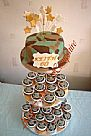 Army Cupcake Tower