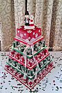 Christmas Parcels Wedding Cake